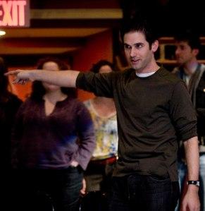 Ari Edelson giving direction (Photo by Kerry Long - www.kerrylong.com)