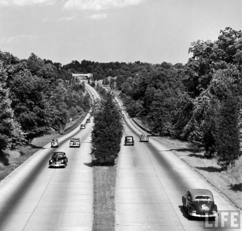 Merritt Parkway motoring