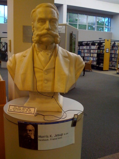 Morris Jesup, founder of Westport Public Library
