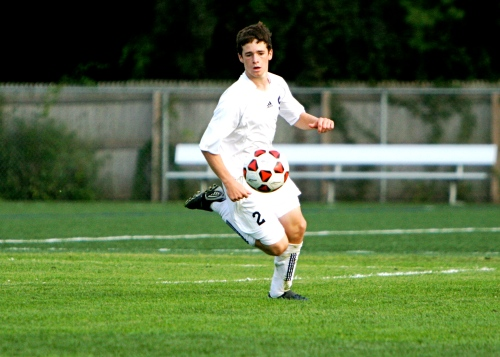 Jack Hennessy is as fast on the basepaths as he is on the soccer pitch.