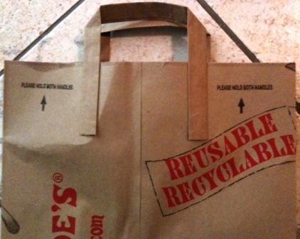 Trader Joe's paper bag