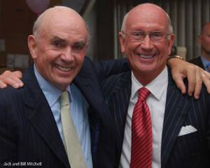Jack and Bill Mitchell (Photo courtesy of MR Magazine)