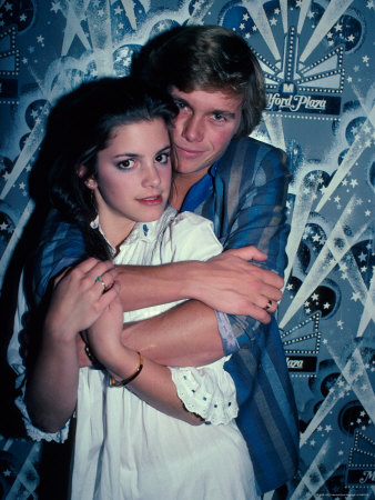 Cindy Gibb and Christopher Atkins