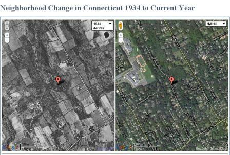 Google Maps Goes Retro - Current aerial maps