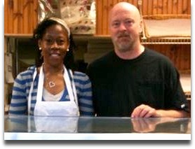Bonnie and Rick, the great team at Great Cakes.