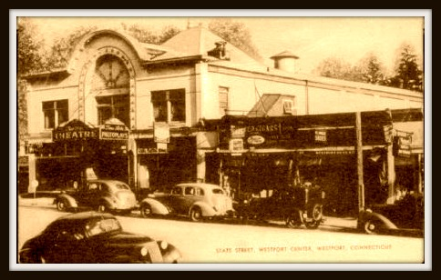 Westporters have parked on the Post Road since at least the time of the Fine Arts Theater. It opened in 1916.