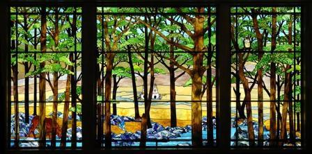 Peter Green Renaissance Stained Glass Man 06880