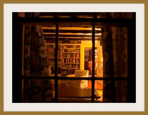 The Bacharachs' library, where generations gathered to sing. (Photo/Robert Colameco)