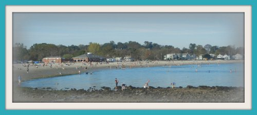 Compo Beach: a true town gem.
