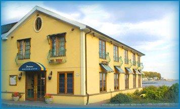 Positano's, at Old Mill Beach near Elvira's.