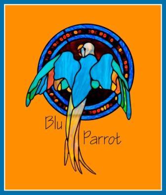 blu parrot