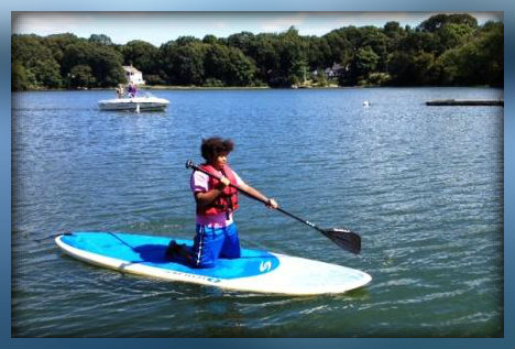 Slice of Saugatuck is not just about food. In 2012, free kayaks brought plenty of people to Downunder's riverside dock.