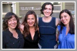 Lauren, Lynsey, Lisa and Lesley Addario.