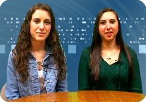 "Hannah Foley and Marla Friedson, hosting today's ""Good Morning Staples."" (Photo courtesy of Mike Zito)"