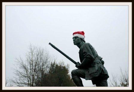 Westport Minuteman Statue by Katherine Hooper