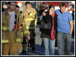Many people in Newtown -- first responders as well as families -- took advantages of crisis counseling in Newtown today.