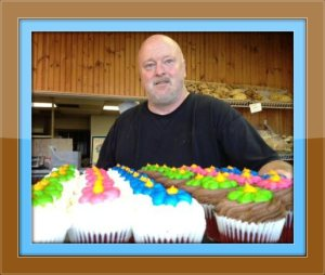 Rick Dickinson, and his great Great Cakes goods.