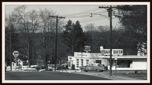Dairy Queen, Westport CT 1956