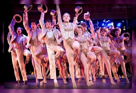 "The ""Chorus Line"" cast. (Photo by Kerry Long)"