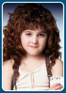 Alisan Porter as Curly Sue.