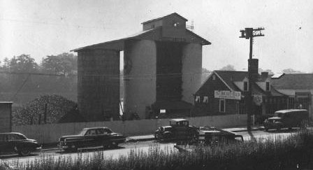 Gault's facility once towered over its Riverside Avenue neighbors, like the Jockey Club.