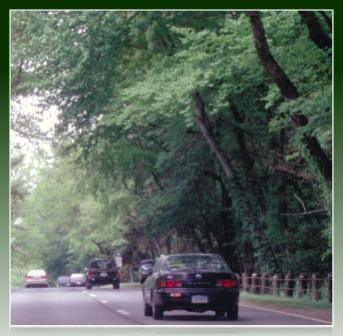 The Merritt Parkway before...