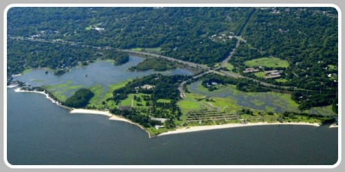 Sherwood Island State Park -- right here in Westport.