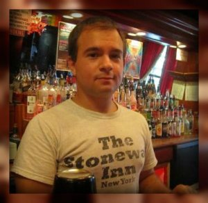 Ben Kampler, behind the Stonewall bar.