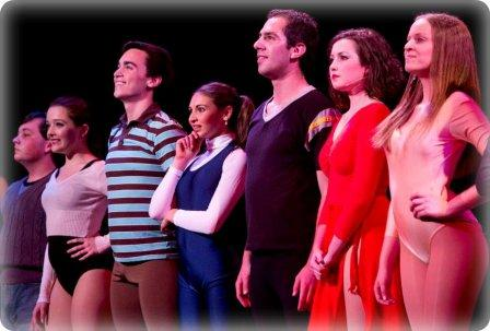 "An intense ""Chorus Line"" moment."