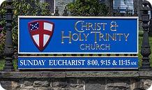 Christ Holy Trinity sign
