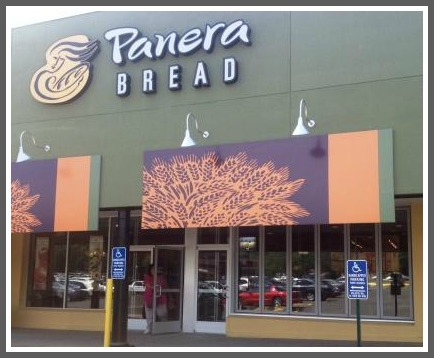 The newest Panera bread, between Walgreens and HomeGoods.