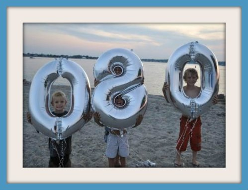 """60% of """"06880"""" isn't too bad. See you next year, at the 2nd annual party! (All photos by Jo Shields)"""