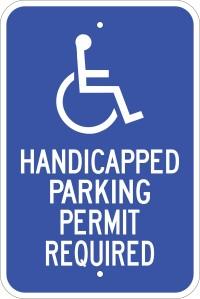 Handicap permit