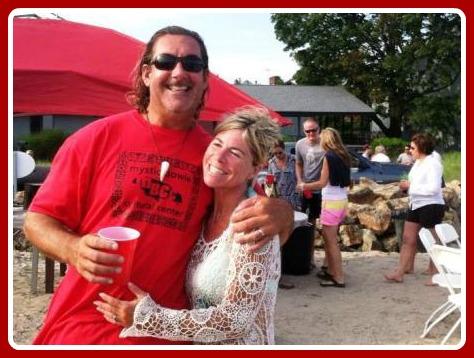 Tony and Penny Sousa, celebration organizers. (Photo/William Adler)