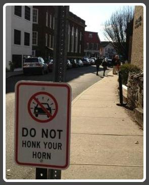 Honk horn