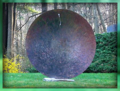 """""""All The World's A Stage"""": the sculpture."""