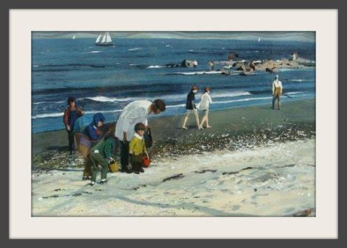 "Hardie Gramatky: ""Compo Beach Figures"""