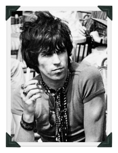 Keith Richards, back in the '60s.