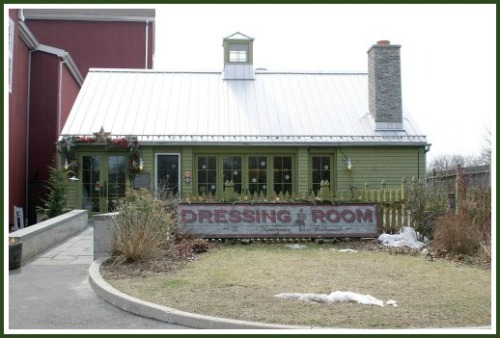 The Dressing Room, next to the Westport Country Playhouse.