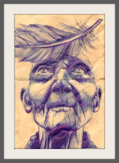 A Bic pen drawing by Max Berger.