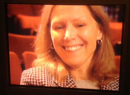 Andrea Tebbetts, in the Ed Sullivan Theater. Today, she's a tax attorney with the Justice Department, in Washington DC.