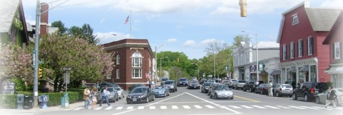 Downtown Westport is one focus of the new political party.