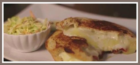 The menu ranges from the classic grilled cheese...