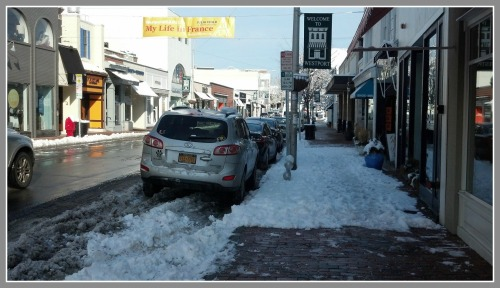 Main Street sidewalk