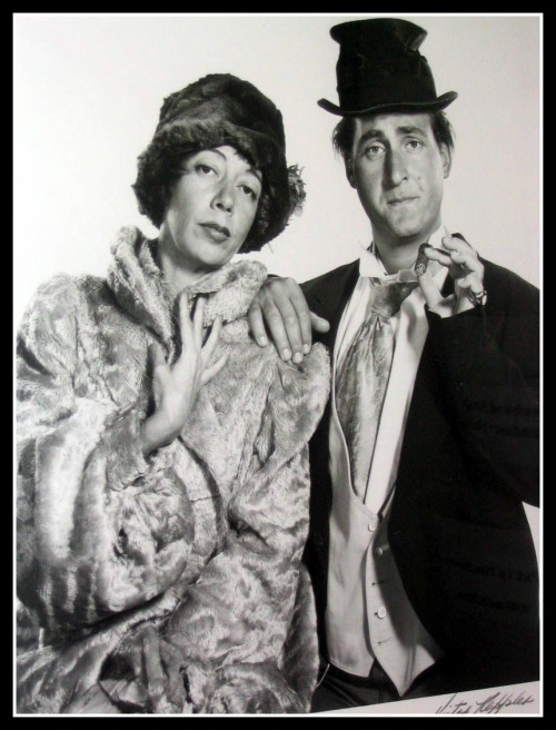 This iconic photo of Sid Caesar and Imogene Coca was taken by Famous Artists School founder Victor Keppler. And even the folks who know that don't know this iconic shot was taken by Victor Keppler. The renowned photographer lived in Westport until his death in 1987 at 83. This image is now part of the Westport Schools Permanent Art Collection.