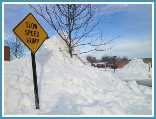 Staples High School snow