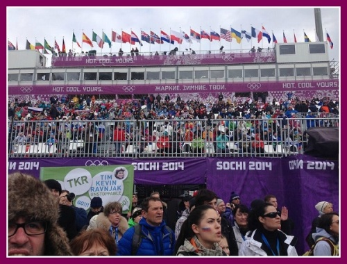 The eyes of the world were on Sochi -- and spectators there had a great time.