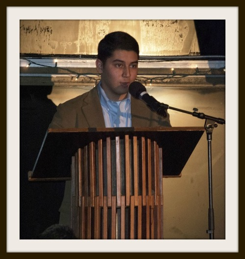 When ABC scholars speak at the annual fundraiser, they describe with love and awe their relationshp with host families. In 2014, Ruben Guardado spoke with confidence and poise.