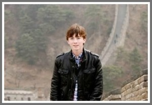 Clay Garner, on a previous trip to China.