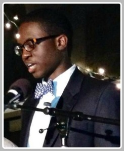 Khaliq Sanda, speaking at Saturday's A Better Chance gala.